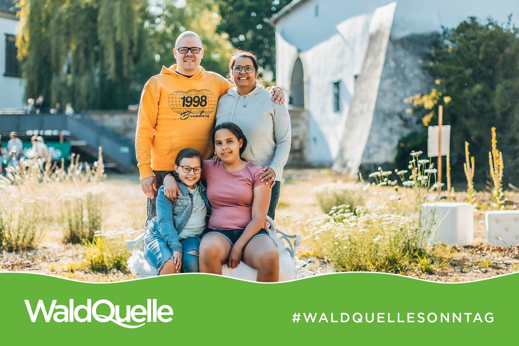 Waldquelle Familiensonntag - Familienfotos © Michael Fraller