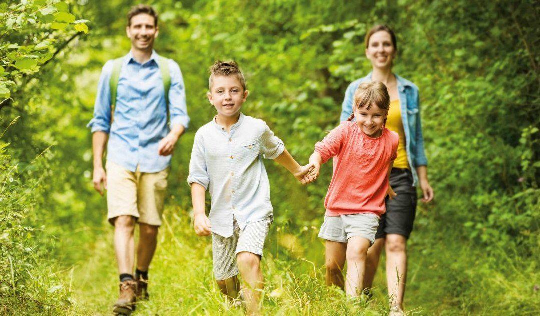 1. WALDQUELLE FAMILIENWANDERTAG IN KOBERSDORF