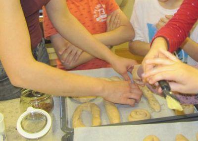 Kochworkshops an Volksschulen