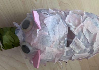 Sparschwein aus PET-Flasche