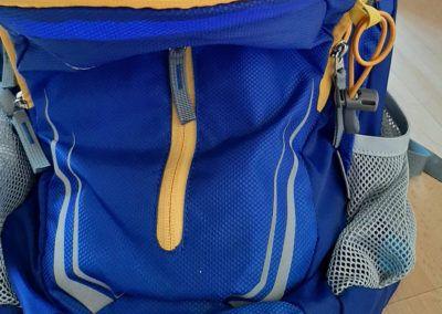 Rucksack beim Einkaufen immer dabei!