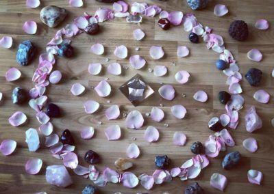 Kristall-Mandala