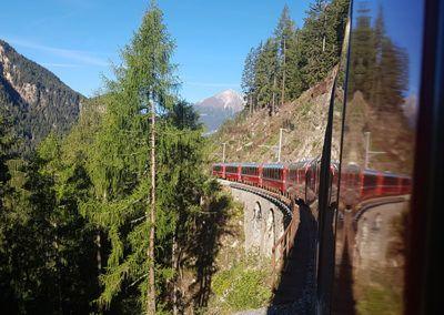 Nachhaltiger Zugurlaub in der Schweiz