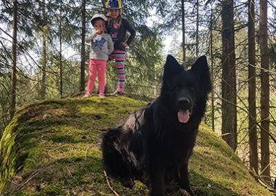 Radlausflug in den Wald mit Waldpädagogik