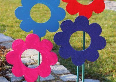Blumen-Bilderrahmen