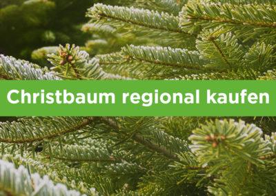 Christbaum-Regional für dich und mich und Alle