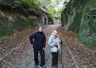 Wandern mit meiner Mutter- sie ist auch im alter noch fit und gerne draußen!