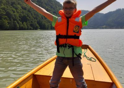 Zillenfahrt auf der Donau