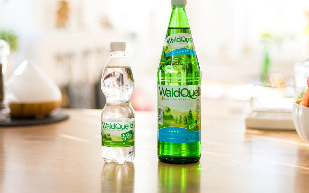 Glas oder PET – diese Aufbewahrungsform eignet sich für Mineralwasser