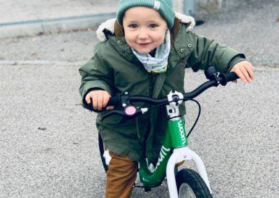 Rad fahren lernen