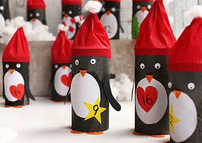 Pinguine Adventkalender
