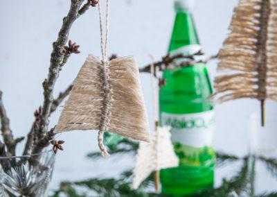 Makramee Weihnachtsbaum