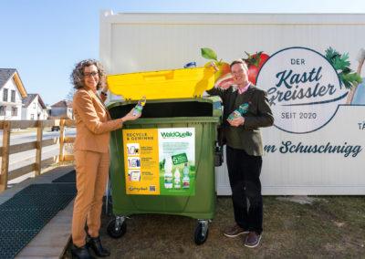 """Wir unterstützen die """"Recycle Mich"""" Initiative"""