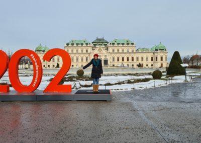Wiener Touristen erkunden ihre Heimatstadt