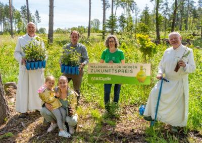 Waldquelle und Stift Geras sorgen für Artenvielfalt
