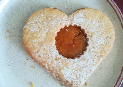 Keks mit Herz